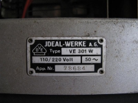 VE301 W Ideal