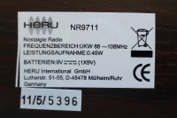 Retroradio Heru NR9711
