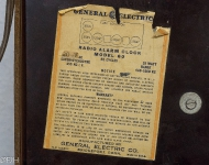 General Electric Radio Alarm Clock 60